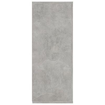 vidaXL Dressoir 105x30x75 cm spaanplaat betongrijs