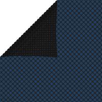 vidaXL Zwembadfolie solar drijvend 1000x500 cm PE zwart en blauw