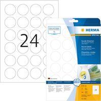 Herma 5066 Movable etiketten Ø 40 rond 25 vel DIN A4 600 stuks.