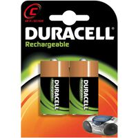 Duracell Rechargeable NiMH C/HR14 3000mAh blister 2