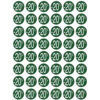 Apli ETIK -20% GRN ROND 24MM 192ST
