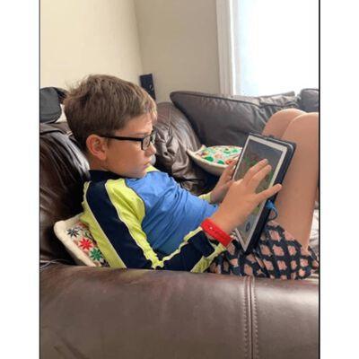 Blauwlichtbril Met Blauwlichtfilter, Voor Kinderen (3-9 Jaar) Zwart