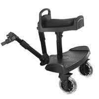 Baninni Meerijdplankje voor kinderwagen Passo zwart BNSTA005-BK