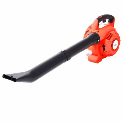 vidaXL Bladblazer 3-in-1 benzine 26 cc oranje