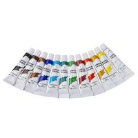 Acryl Verf Setje 12 Kleuren 12 Ml - Acrylverf/schilder Verftubes -