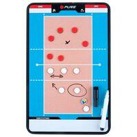 Pure2Improve Coach-bord dubbelzijdig volleybal 35x22 cm P2I100690