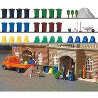 Busch - Müll-set H0 (bu1136) - Model Speelgoed