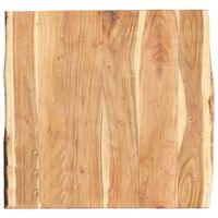 vidaXL Tafelblad 60x(50-60)x3,8 cm massief acaciahout