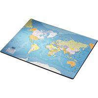 Esselte Bureauonderlegger Europost wereldkaart 40x53 cm