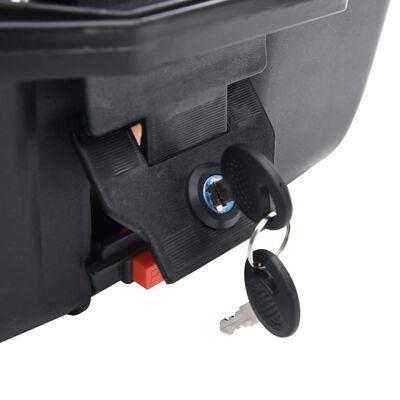 vidaXL Topkoffer voor motor 24 L voor 1 helm