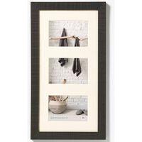 Walther Design Fotolijst Home 3x 10x15 cm zwart
