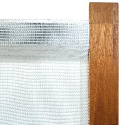 vidaXL Kamerscherm met 4 panelen 280x170 cm crèmewit