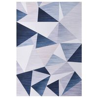 vidaXL Vloerkleed bedrukt 80x150 cm stof meerkleurig