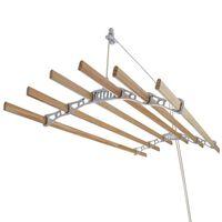 Droogrek Ophangbaar Plafond - Wit - 1.8 Meter