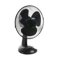 Tafelventilator – Verkoeling – Ventilator Op Voet – Zelfdraaiend – 3