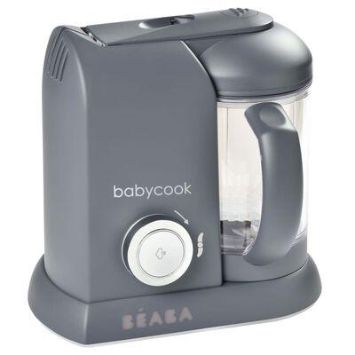 Beaba Babyvoeding machine 4-in-1 Babycook Solo 1100 ml donkergrijs,