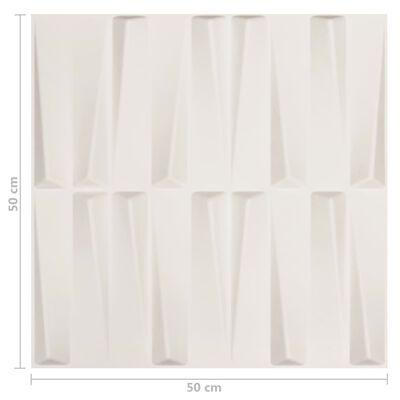 vidaXL 24 st Wandpanelen 3D 6 m² 0,5x0,5 m