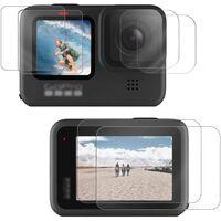 GoPro Hero 9 case en screenprotector met accessoires Zwart