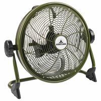 Bestron Vloerventilator oplaadbaar AOD12ACCU groen