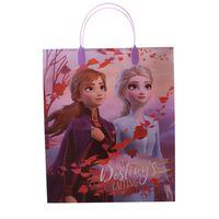 Disney Frozen II uitdeelzakje 32 x 27 cm per stuk
