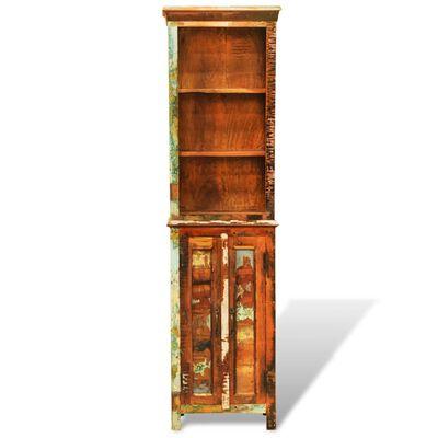 vidaXL Boekenkast vintage-stijl massief gerecycled hout