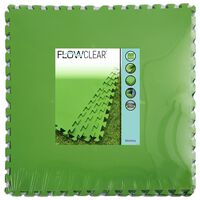 Bestway Bodembeschermers 9 st Flowclear 5,47 m² groen