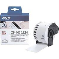 Brother DK-N55224 Etiket Zwart op wit (54  mm)