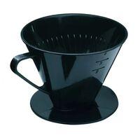 Kunststof Dripper Koffie Geschikt Voor Filter No.4 Zwart