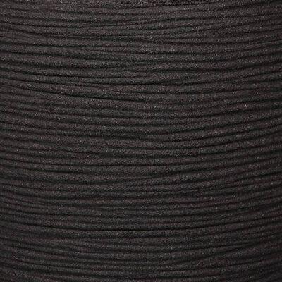 Capi Bloempot Nature Rib 43x41 cm zwart KBLR933