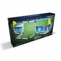 Dunlop Set Voetbal - Boarding, Doel, 2x Vlag, Bal + Pomp - 230x73x36cm