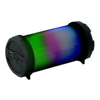 Dunlop Draadloze Speaker - MW-133BT-B - Bluetooth 4,2 - 3 Watt