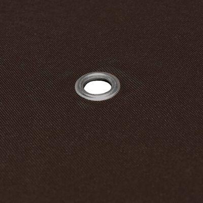 vidaXL Prieeldak 310 g/m² 3x3 m bruin