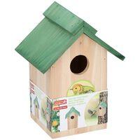 Lifetime Garden - Vogelhuisje - 20 X 18 X 14 Cm - Groen