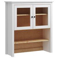 vidaXL Bovenbouw Hill Range 90x33x100 cm massief grenenhout wit