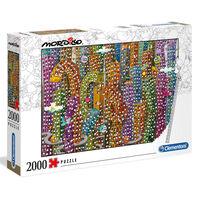 Clementoni Puzzel Mordillo Jungle 2000 stukjes