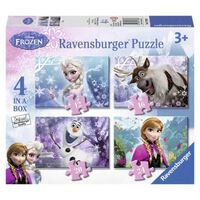 Puzzel Disney Frozen 4 In