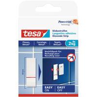 9x Tesa Powerstrips tegels en metaal klusbenodigdheden -