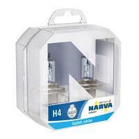 autolampen H4 Range Power Blue+ 12V 60/55W wit 2 stuks