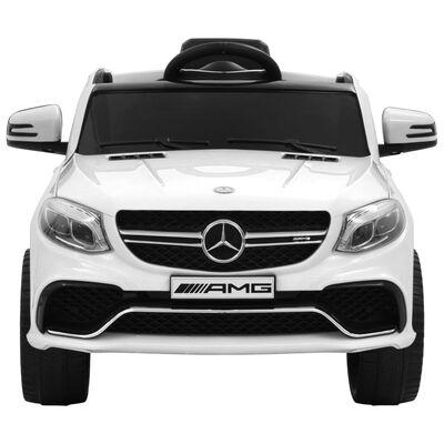 vidaXL Kinderauto Mercedes Benz GLE63S kunststof wit