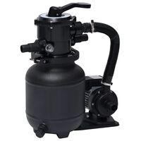 vidaXL Zwembad zandfilterpomp met 7-positie ventiel 18 L