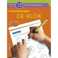 Deltas Tijd voor huiswerk - Oefenblaadjes De klok (7-9 j.)