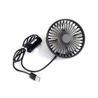 Koelventilator voor auto met 360 ° rotatie en regelbare snelheid - Zwa