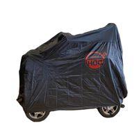 Cuhoc - Waterdichte Scootmobiel Hoes Zwart - 140x66x117 - Red Label