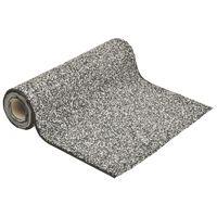 vidaXL Grindfolie 1000x60 cm grijs