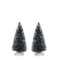 Luville - Bristle Tree S 2 Pieces - Kersthuisjes & Kerstdorpen