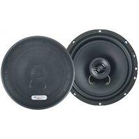 speakerset tweeweg coaxiaal X172 400 Watt zwart