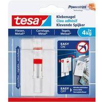 Tesa Klevende Spijker voor Tegels en Metaal, verstelbaar, draagverm...