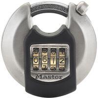 Master Lock Discus hangslot Excell 70 mm roestvrij staal M40EURDNUM