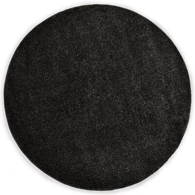 vidaXL Vloerkleed shaggy hoogpolig 67 cm antraciet