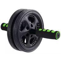 Schildkröt Fitness buikspierwiel 18,5 cm zwart